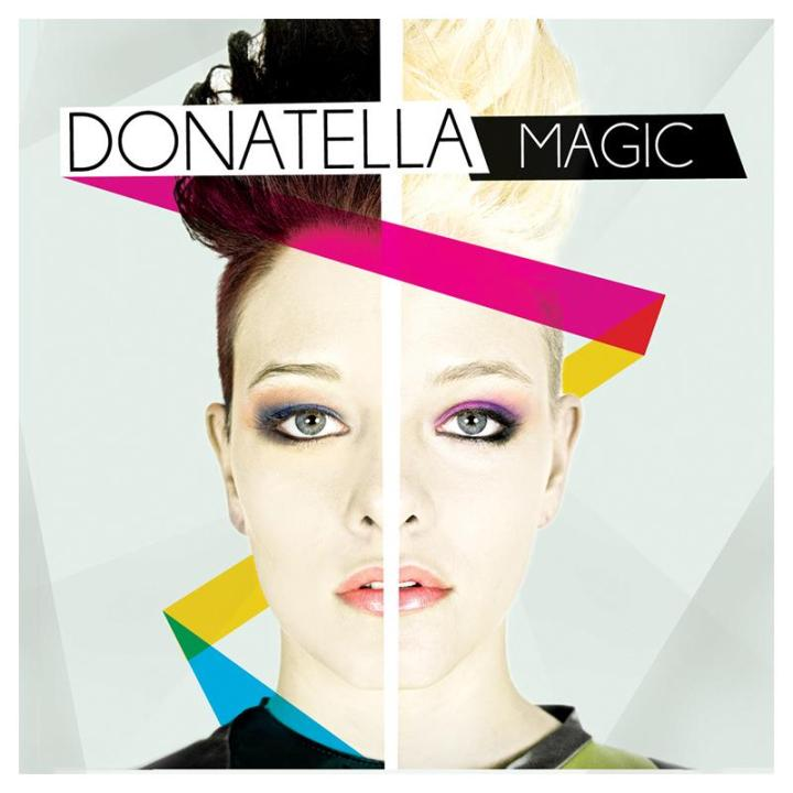 LE DONATELLA - MAGIC COVER COPERTINA