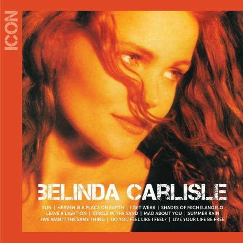 BELINDA CARLISLE ICON COVER THE BEST OF COPERTINA