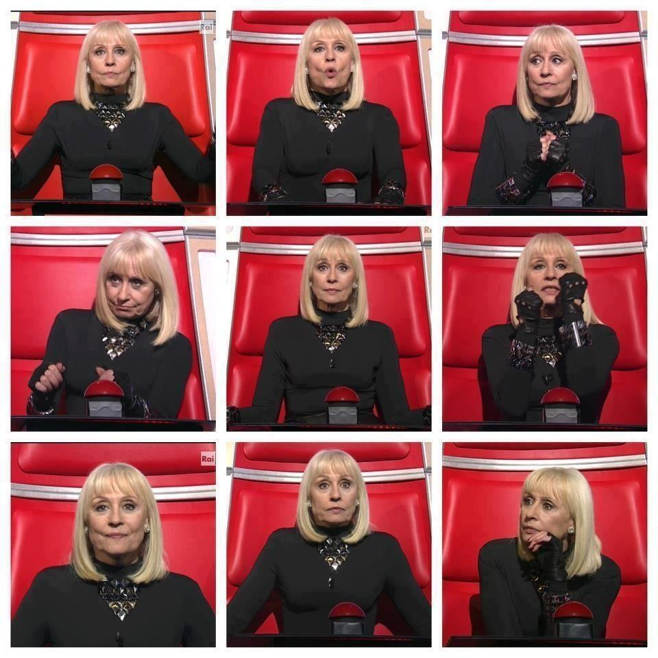 raffaella carrà the voice