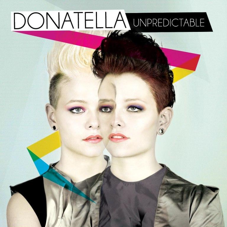 donatella UNPREDICTABLE ALBUM COVER