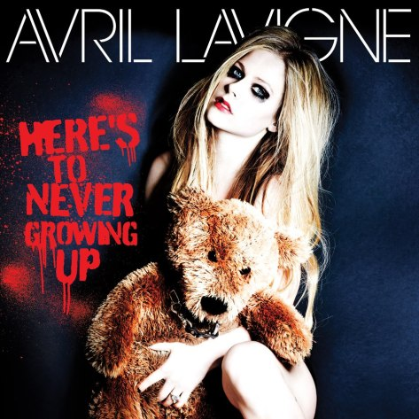 Avril-Lavigne-Heres-to-Never-Growing-Up COVER COPERTINA