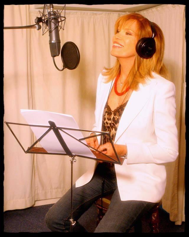 amanda lear in studio di registrazione