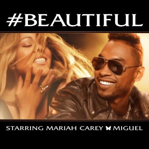 mariah carey miguel #beautiful cover copertina