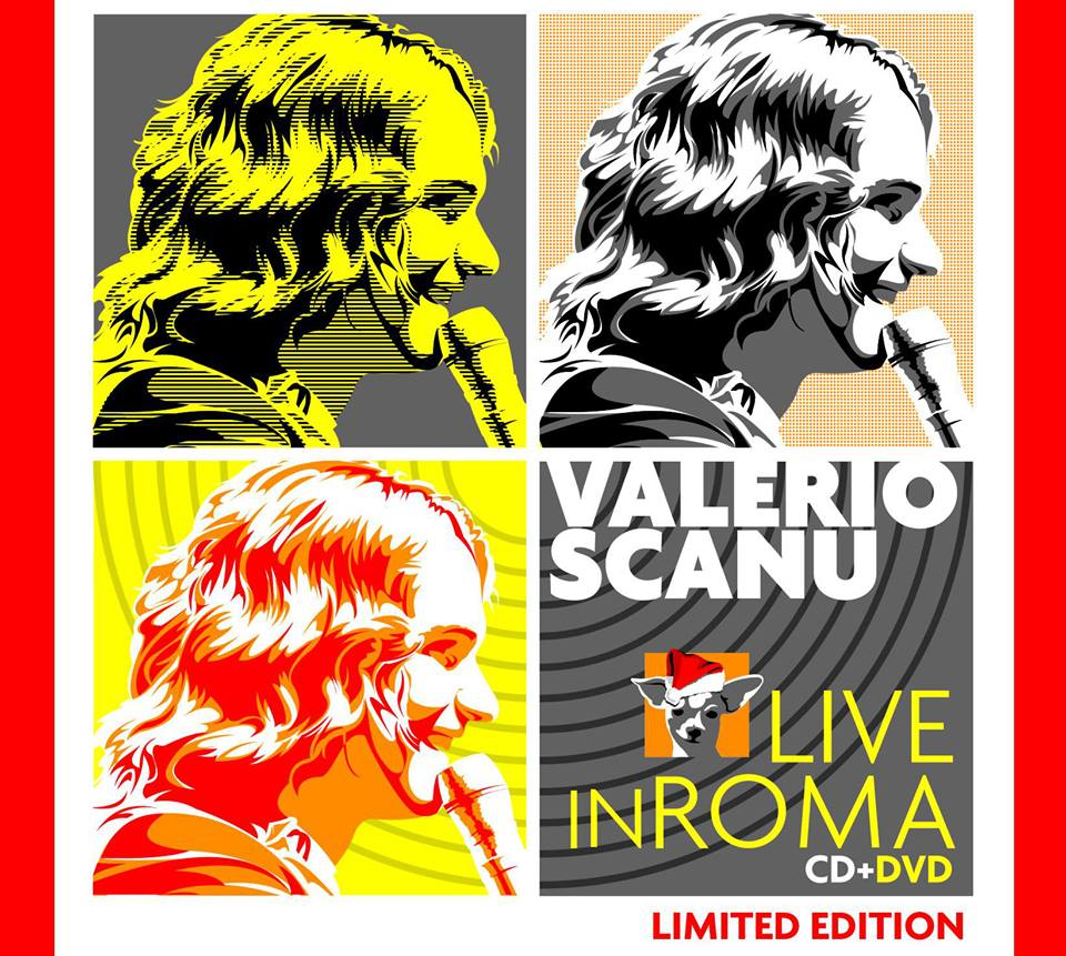 valerio scanu live in roma cd + dvd copertina