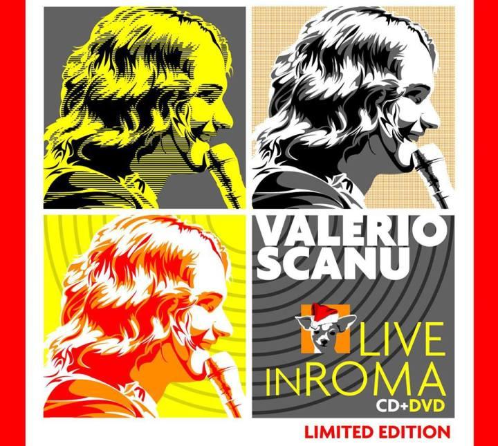 valerio scanu live in roma cd + dvd copertina