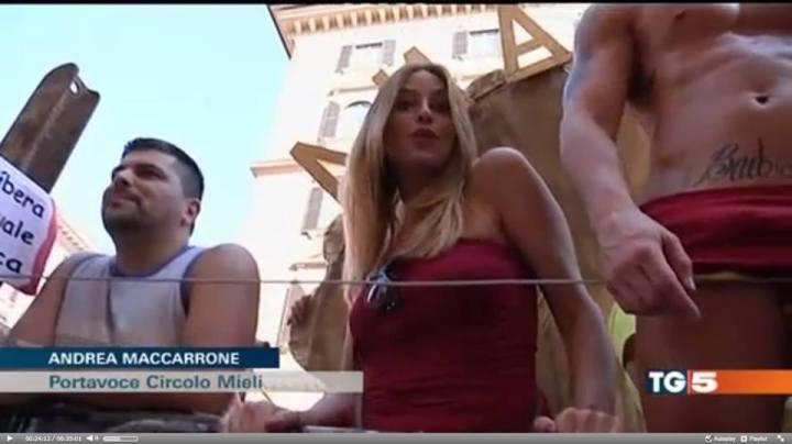 igor scopelliti stefania orkando discoigor tg5 roma pride