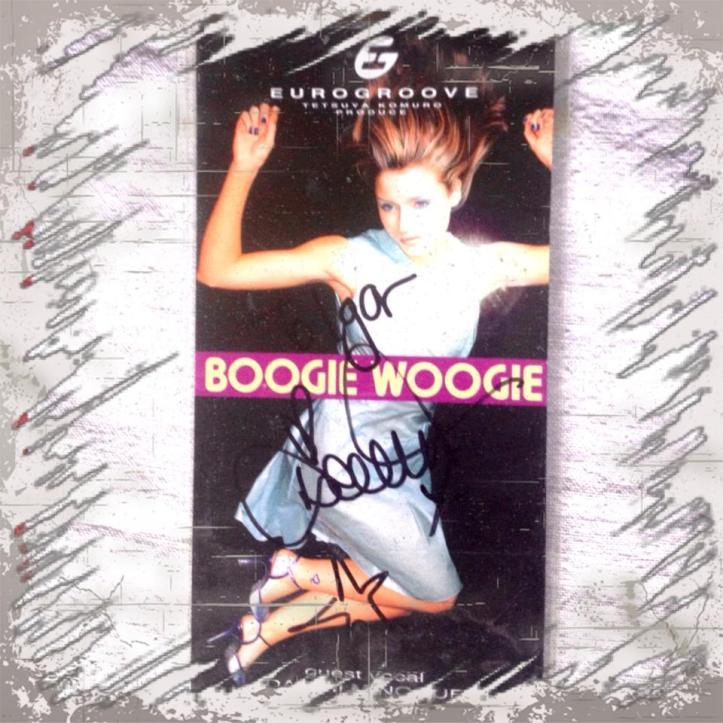 danni minogue boogie woogies cover autograph