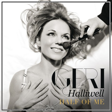 geri halliwell half of me cover copertina
