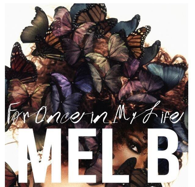 mel b melanie for once in my life cover copertina