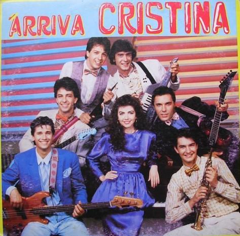 arriva cristina copertina cover album
