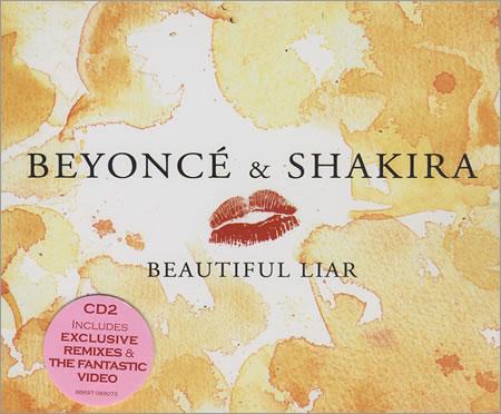 beyonce shakira beautiful liar copertina cover