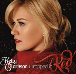 kelly clarkson-christmas-wrapped in red