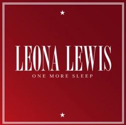 LEONA LEWIS ONE MORE SLEEP PROMO COVER COPERTINA