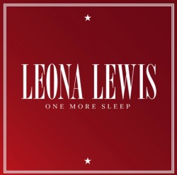 LEONA LEWIS ONE MORE SLEEP PROMO COVER COPERTINA