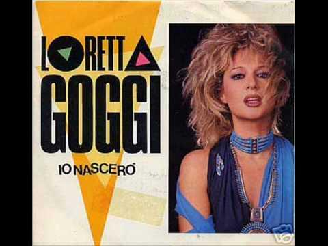 LORETTA GOGGI - IO NASCERO' COPERTINA COVER