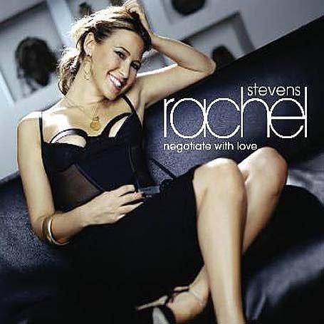 rachel stevens Negotiate with love cover copertina