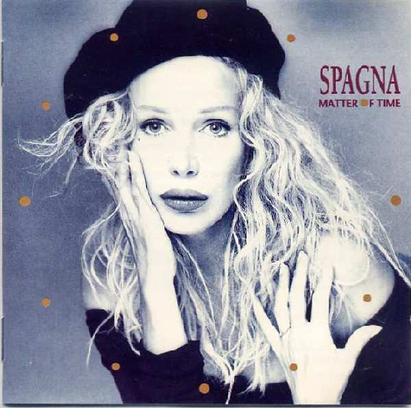 SPAGNA MATTER OF TIME COVER COPERTINA IVANA