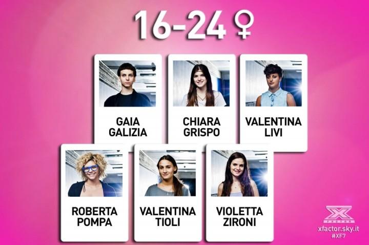 #XF7 under donne