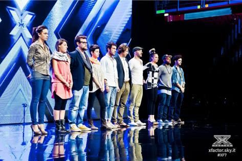 #XF7 under uomini gruppo