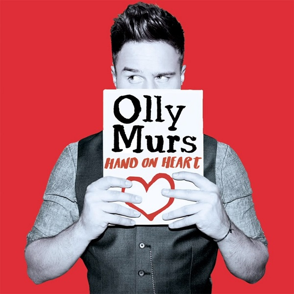 Olly-Murs-Hand-on-Heart cover copertina
