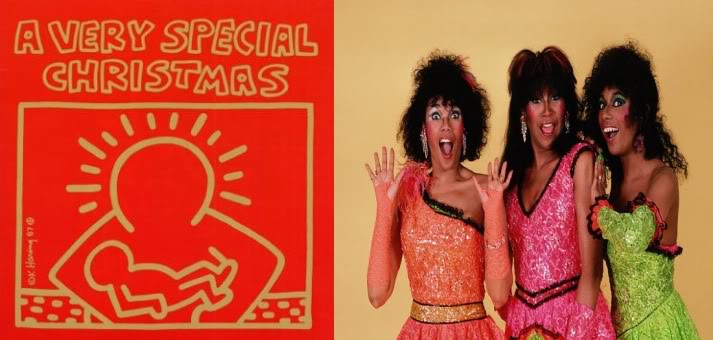 A VERY SPECIAL CHRISTAMAS POINTER SISTERS - SANTA CLAUS IS COMING TO TOWN COVER COPERTINA