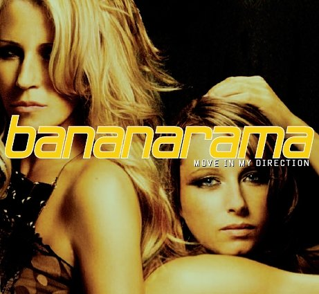 bananarama move in my direction cover copertina