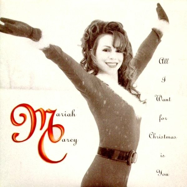 MARIAH CAREY- ALL I WANT FOR CHRISTMAS IS YOU COVER COPERTINA