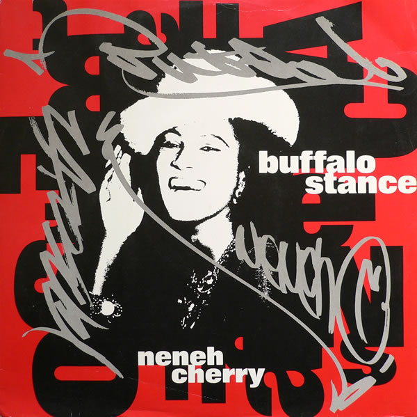 Neneh Cherry - Buffalo Stance cover copertina