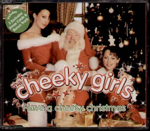 the cheeky girls have a cheeky christmas copertina cover
