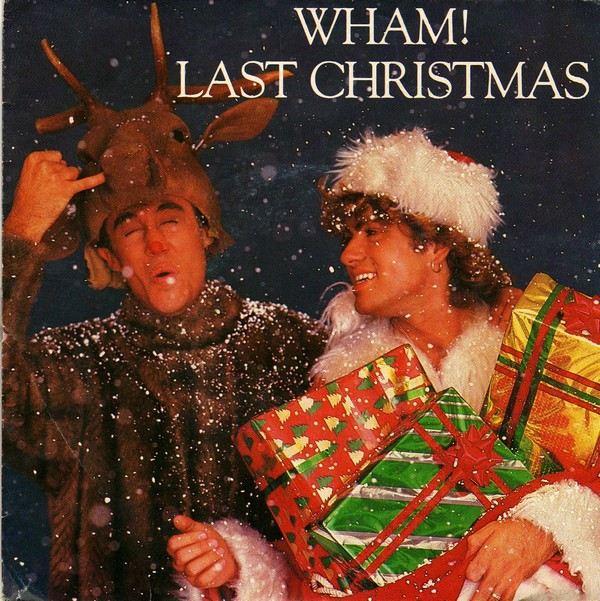 WHAM! LAST  CHRISTMAS cover copertina