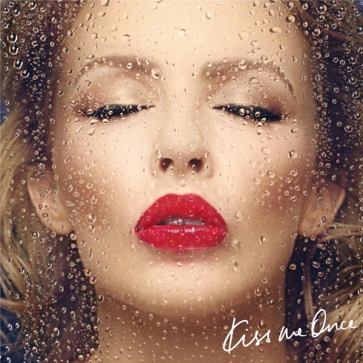 kylie minogue iss me once cover copertina