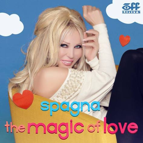 IVANA SPAGNA THE MAGIC OF LOVE COVER COPERTINA
